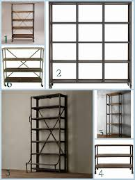 White Distressed Bookcase by Diy Industrial Shelves