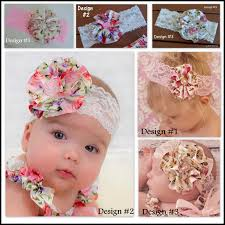 floral headband satin floral headband matches floral bloomers rompers dress