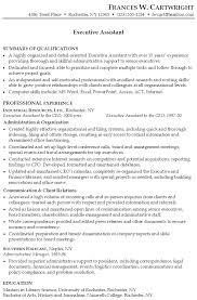 exle resume summary of qualifications resume format summary resume summary exles 1 yralaska com