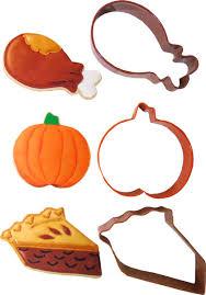 autumn pie cookie cutters sets