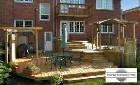 Easy Backyard Patio Patio Design Perfect Above It All Patio Idea With Patio Design