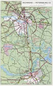 Road Map Of Virginia Richmond Road Map