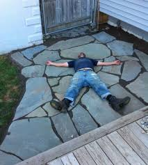 Patio Stone Ideas by Best 25 Flagstone Patio Ideas Only On Pinterest Flagstone