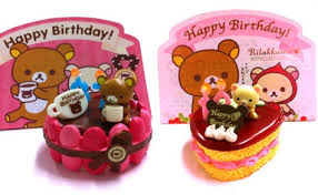 rilakkuma birthday cake rement super cute kawaii