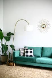 our statement sofa comfortworks green velvet ikea sofa cover