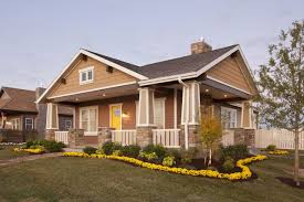 craftsman style new house traditional exterior with craftsman