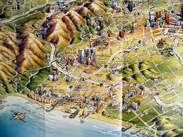 Map Of La Area Area Maps La A House Divided