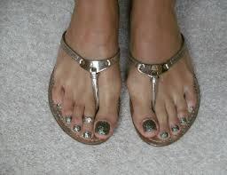 glitter toes nail art archive style nails magazine