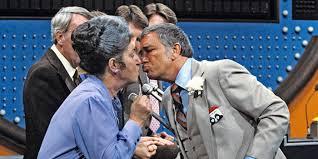richard dawson kissing on family feud richard dawson family feud