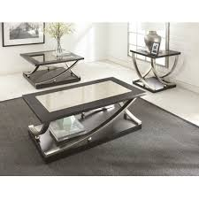 3 piece end table set wade logan lamour 3 piece coffee table set products