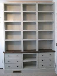 can you believe it u0027s ikea built in bookshelves with rast drawer