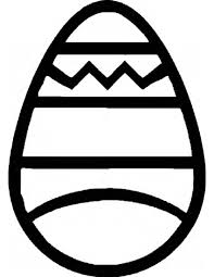 outlines of an easter egg u2013 happy easter 2017