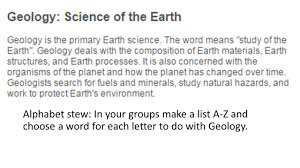 buy earth science application letter