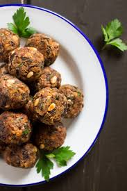 Mediterranean Vegan Kitchen - easy vegan meatballs lazy cat kitchen