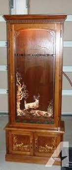 gun cabinet for sale fort harrison lighted locking gun cabinet for sale in moses lake