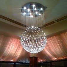 Crystal Chandelier Ball Chandelier Amusing Round Crystal Chandelier Fascinating Round