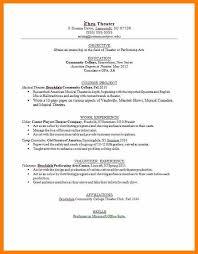 5 movie theater resume sample sephora resume