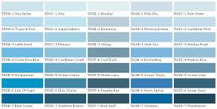 image gallery light blue color chart