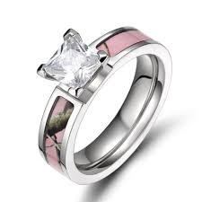 pink camo wedding rings best wedding rings pink camo real diamonds pict for with styles