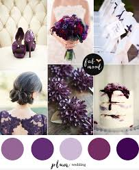 plum wedding plum wedding color palette
