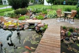 decor of backyard pond ideas natural small garden ponds 12natural