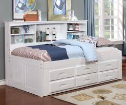 kids white bookcase twin size bookcase captains day bed in white 0222 day beds