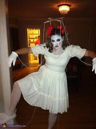 Creepy Doll Costume Diy Marionette Doll Costume
