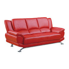 red leather sofas u0026 couches houzz