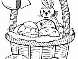 easter bunny coloring pages toddlers 64960