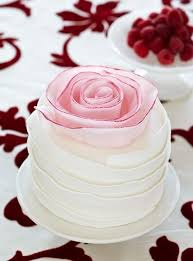 vintage ombre rose cake pink wedding cake ideas homemade cake