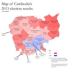 Map Of Election Results by Cambodia U0027s Inverted Mandala New Mandala