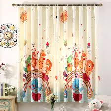 Baby Curtains 3d Printed Animal Kingdom Baby Curtains For Living Room
