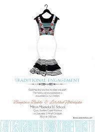 Traditional Wedding Invitations Sithandiwe Xhosa Traditional Wedding Invitation Xhosa Wedding