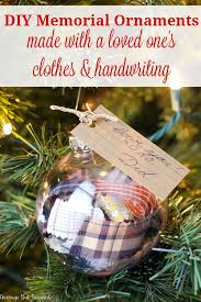memorial christmas ornaments diy memorial ornaments to remember loved ones at christmas