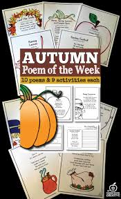 thanksgiving blessing poems poem of the week for the whole year for kindergarten first