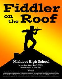 fiddler on the roof presented by mishicot high music