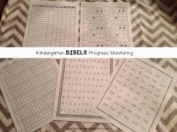 kindergarten dibels practice and a freebie kindergarten smarts