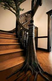 Unique Stairs Design Unique Staircase Design For Your Inner Green Thumb Tree Hugger