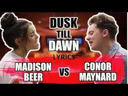 Conor Maynard Meme - dusk till dawn conor maynard lyrics sing off vs madison beer