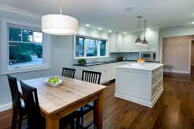 Kitchen Table Contemporary by Kitchen Table Lighting Dining Room Modern With Clerestory Window