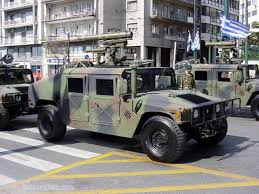 milan anti tank missile on hummer hellenic army military