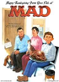 happy thanksgiving from mad magazine mad magazine