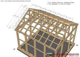 cb201 combo plans chicken coop plans construction garden