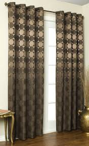 Grommet Curtains For Sliding Glass Doors Brown Curtains With Circles Unusual X Delightful Grommetels Sheers