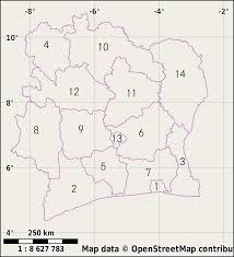 Ivory Coast Map Ivory Coast Wikiwand