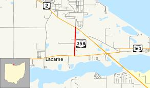 Port Clinton Ohio Map by Ohio State Route 358 Wikipedia
