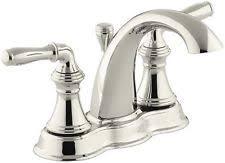 kohler centerset bathroom faucets ebay
