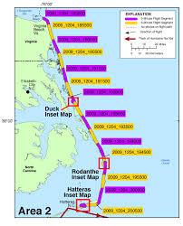 map of virginia and carolina 09ach03 photos and maps post nor ida coastal oblique aerial