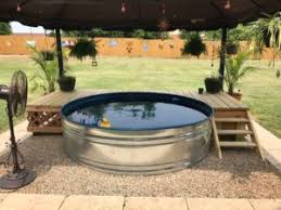 How To Make Your Backyard Private How To Make A Stock Tank Pool Foreman U0027s General Store