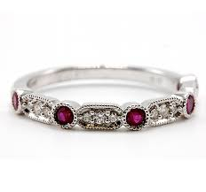 ruby band diamond ruby band henry wilson jewelers syracuse ny